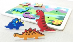 Мозаика-вкладыш Динозаврики, Крона
