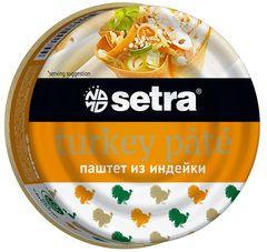 """Паштет """"Setra"""" из индейки 100г"""