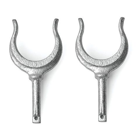 Уключина U-образная, Ø12х50 мм, оцинк. сталь