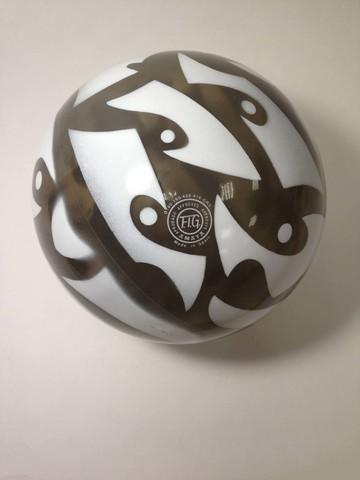 Мяч AMAYA 18,5 см Галактика для художественной гимнастики
