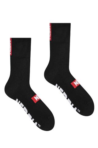 Спортивные носки фирмы Nebbia Extra Mile crew socks 103 black