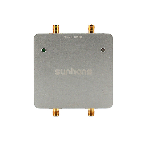 Усилитель Wi-Fi MiMO сигнала бустер Sunhans SH24Gi1000-D2, 1000 МВт, 30 дБм, 2,4 ГГц, 2T2R/ 300 Мбит/с, IEEE 802.11b/G/N