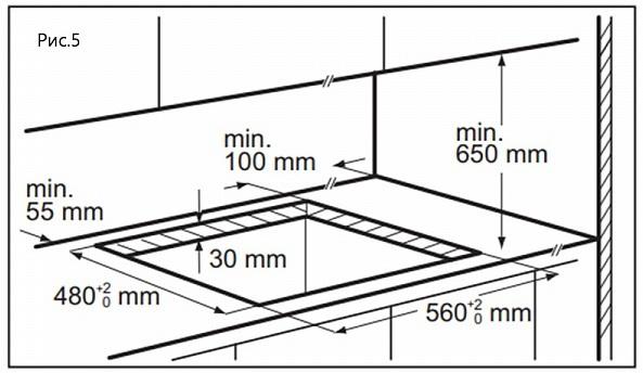 Газовая варочная панель Maunfeld EGHE.64.63CBG.R/G