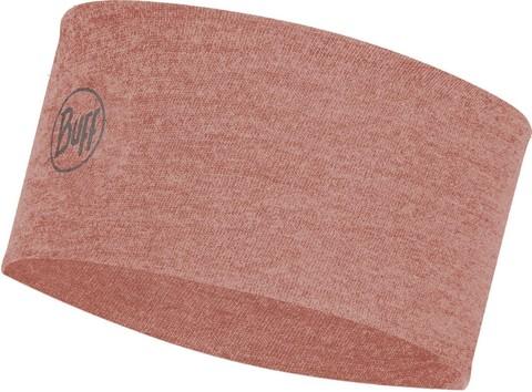 Шерстяная повязка на голову Buff Headband Midweight Wool Rosewood Melange фото 1