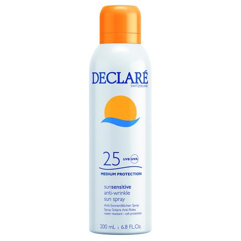 DECLARE | Солнцезащитный спрей SPF 25 с омолаживающим действием / Anti-Wrinkle Sun Spray SPF 25, (200 мл)