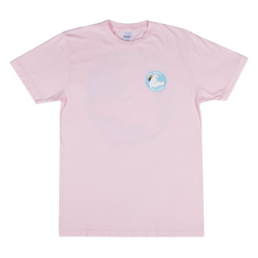 Футболка RIPNDIP Charged Up (Pink)
