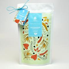 Чайный напиток Гречишный Императорский с ройбушем и кэробом  Сибирский кедр крафт-пакет 150 гр