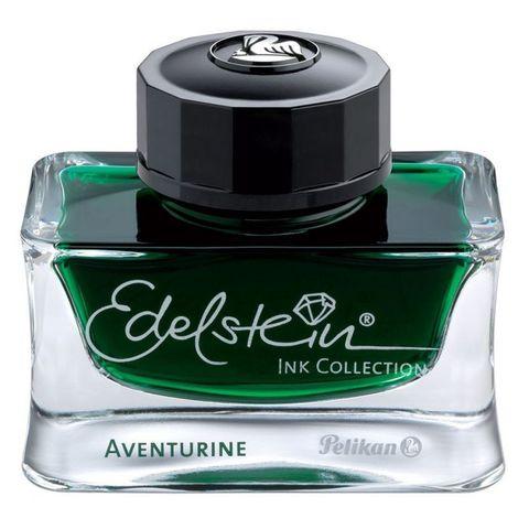 Флакон с чернилами Pelikan Edelstein EIGR (PL339366) Aventurine чернила темно-зеленые чернила 50мл для ручек перьевых