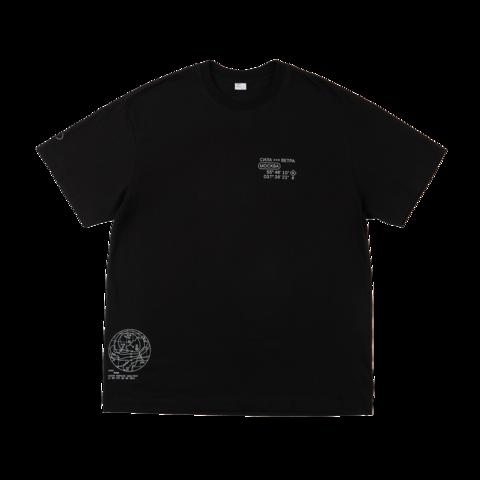 Черная футболка Силы ветра