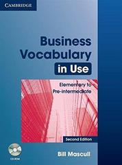Business Vocabulary in Use: Elementary to Pre-i...