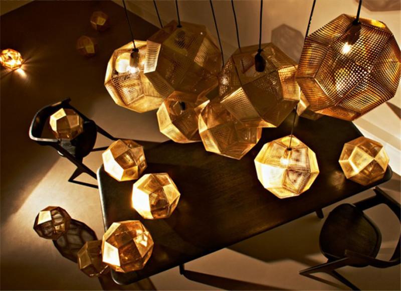 Подвесной светильник копия Etch by Tom Dixon (бронзовый)