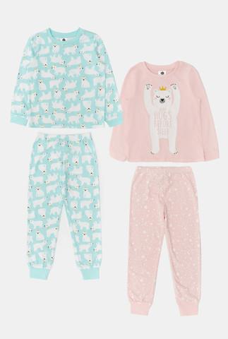 Два комплекта для девочек ((1)джемпер и (2)брюки) Merrin