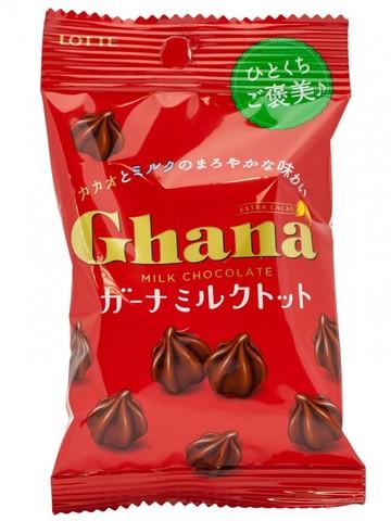 Шоколад ГАНА трюфель, Lotte, м/у, 45 гр.