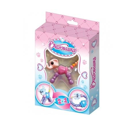 ОЧАРОВАШКА Мармелад в сах. глазури с игрушкой браслетом 1кор*12бл*10шт, 5г.