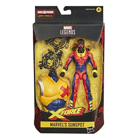 Marvel Legends Series: Marvel`s Sunspot || Санспот