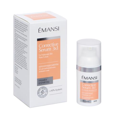 EMANSI Корректирующая сыворотка 3х1 + APh-System