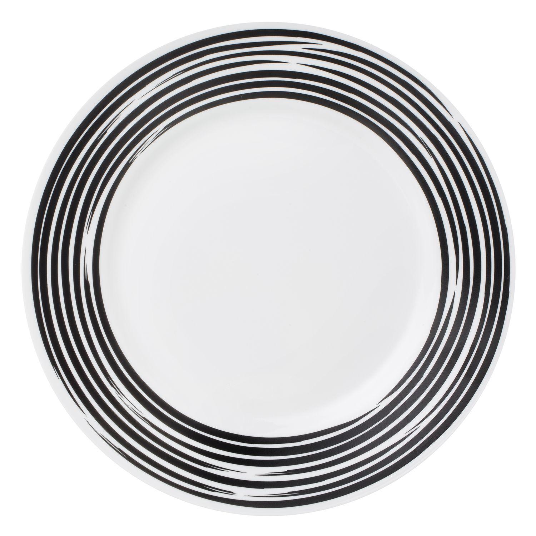 Тарелка закусочная 22см Brushed Black, артикул 1118425, производитель - Corelle