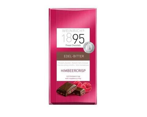 Горький шоколад с кусочками малины Weinrichs 1895, 100 г