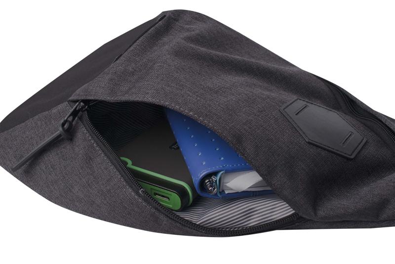 Рюкзак WENGER с одним плечевым ремнём, цвет серый, 7 л., 45х25х15 см. (2607424550) - Wenger-Victorinox.Ru