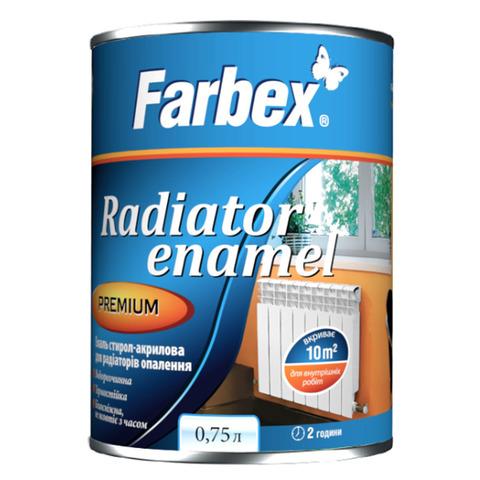 Эмаль акриловая для радиаторов Farbex