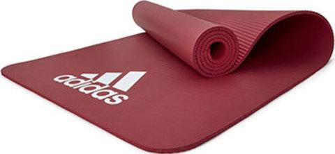 ADMT-11014RD Тренировочный коврик (фитнес-мат) Adidas, 7 мм, красный