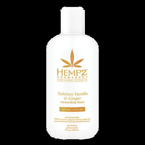 Гель для душа Имбирь и Ваниль Таити / Hempz Tahitian Vanilla & Ginger Herbal Body Wash