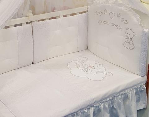Детское постельное белье Мишки 3 предмета