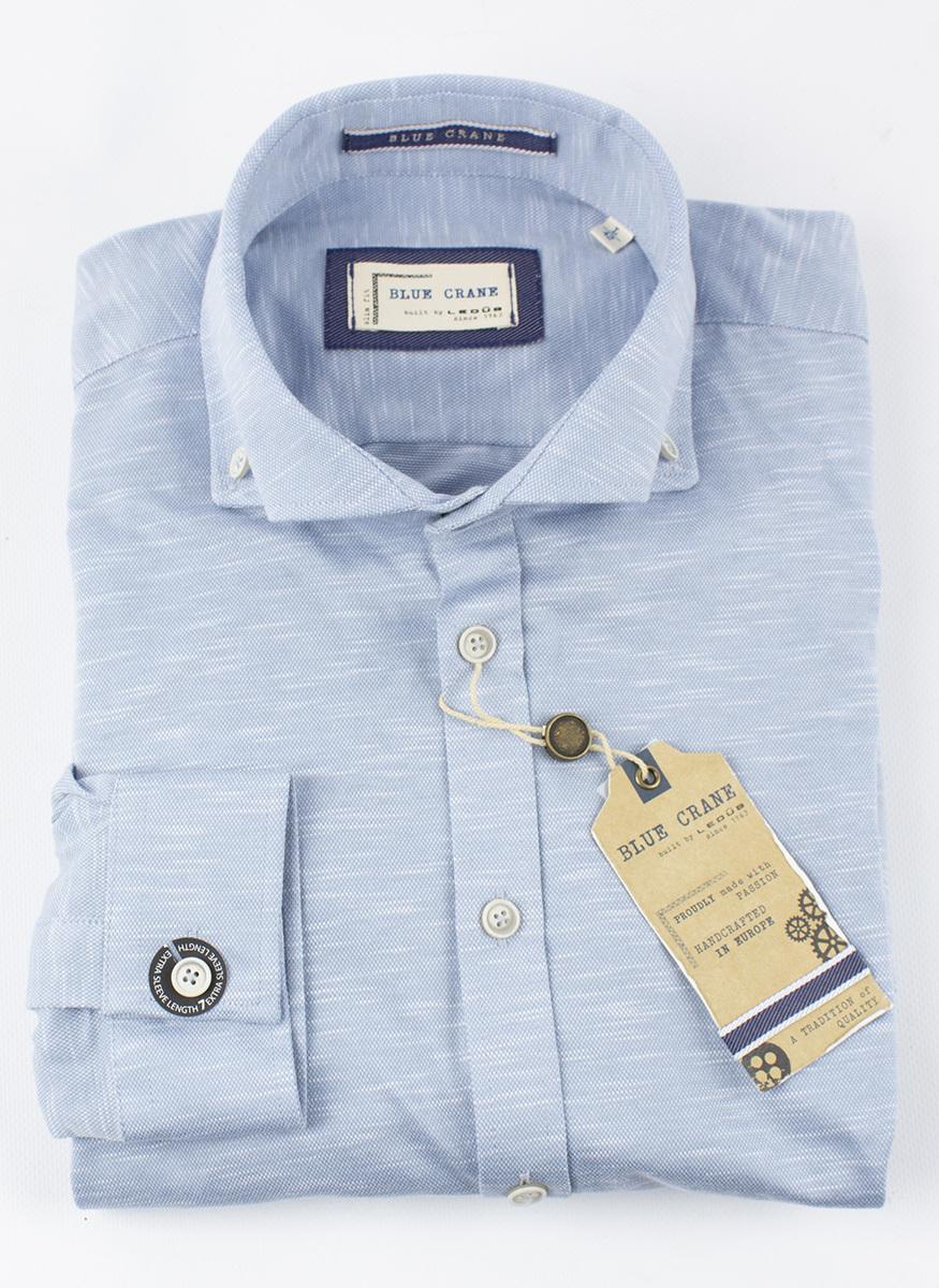 Рубашка Blue Crane slim fit 3100170-130-000-000-SF-Blue