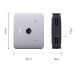 Адаптер Xiaomi Hagibis Mini HDMI Distribution Switcher Alloy HD 4K Vision