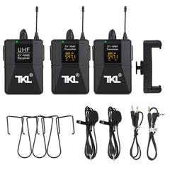 Универсальный Радио Петличный Микрофон TKL-02