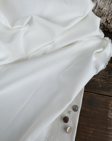 Джинса с эластаном, цвет Белый