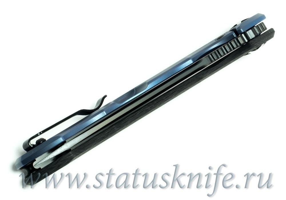 Нож Zero Tolerance ZT 0452CF М390 BLUBLK - фотография