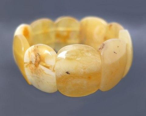 роскошный браслет из подлинного балтийского янтаря