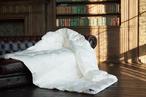 Одеяло пуховое кассетное всесезонное Light 200x220 «Luxe Down Grass»
