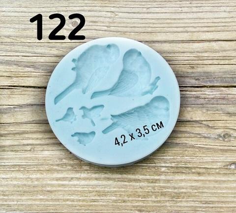 0122 Молд силиконовый Птицы,