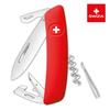 Швейцарский нож SWIZA D03 Standard, 95 мм, 11 функций, красный (блистер)