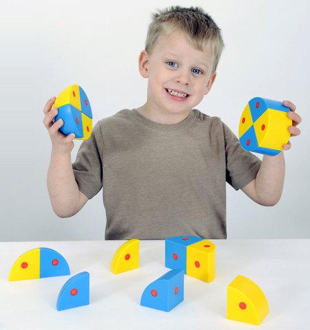 Набор Полидрон Магнитные блоки 3D