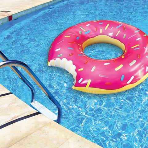 Круг надувной bigmouth, strawberry donut