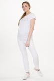 Брюки для беременных 03028 белый