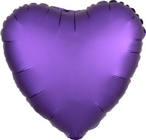 Сердце- фиолетовый