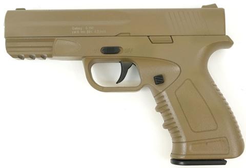 Страйкбольный пистолет Galaxy G.39D H&K, металлический, пружинный