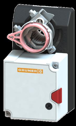 Gruner 227C-024-05 электропривод с моментом вращения 5 Нм