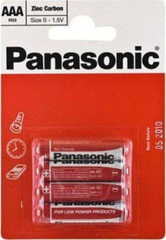 Батарейки Panasonic R03, AAA (4/48/240) BL