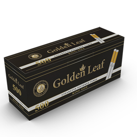 Гильзы для самокруток Golden Leaf 500 шт