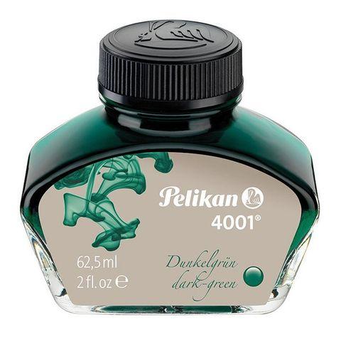 Флакон с чернилами Pelikan INK 4001 76 (PL300063) темно-зеленые чернила 62.5мл