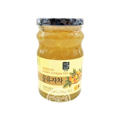 Джем с цитроном и медом Honey Citron Tea 480г Nokchawon Корея