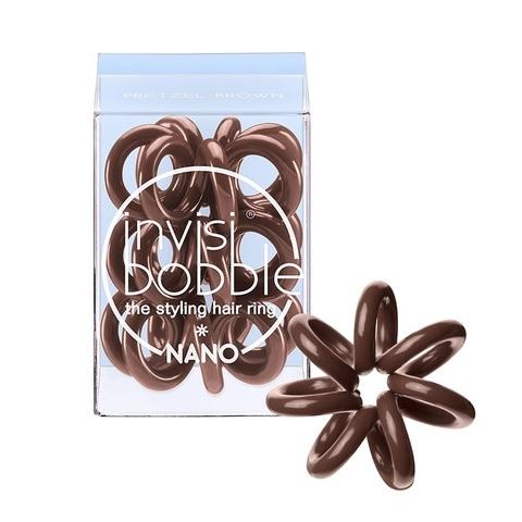 Резинка для волос Nano Pretzel Brown | Invisibobble