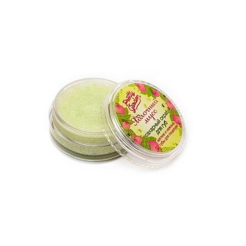 Сахарный скраб для губ Яблочный мусс , 8 г ТМ PRETTY GARDEN