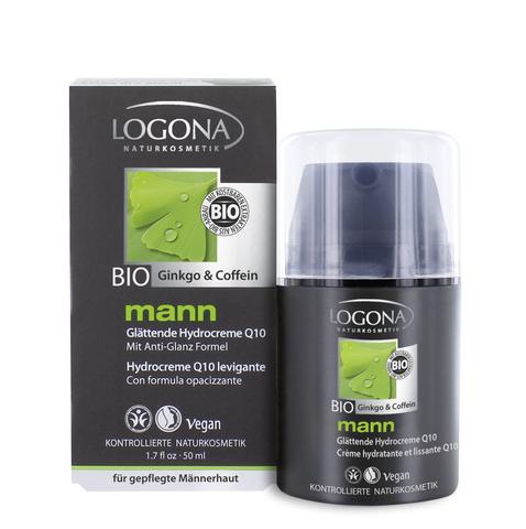 LOGONA Man увлажняющий крем с Q10