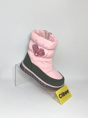 Clibee (зима) K909 Pink 22-27
